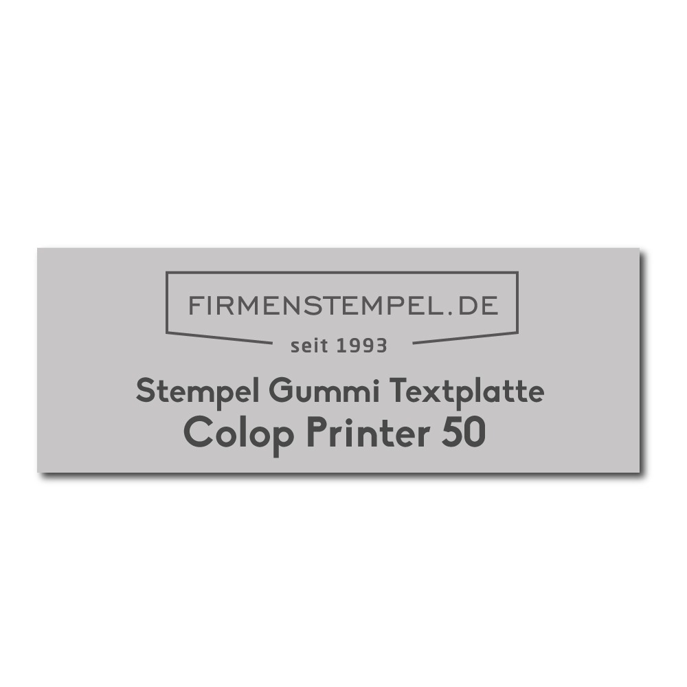 Colop Printer Stempelplatte