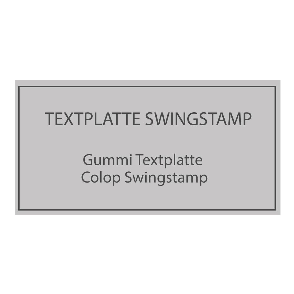 Swing Stempelplatte