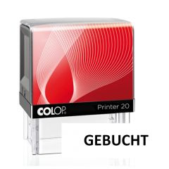 Colop Printer 20 Gebucht