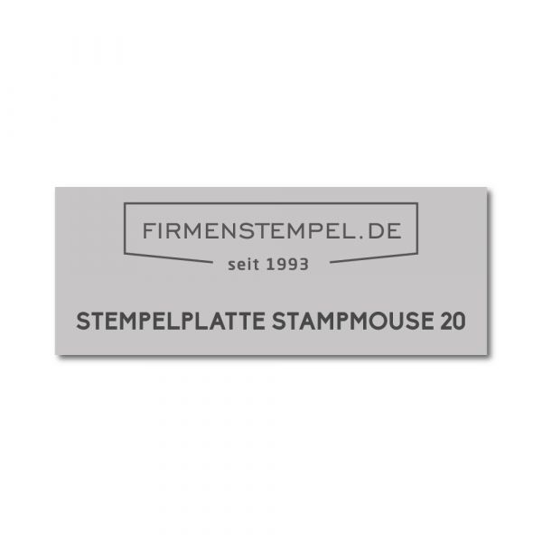Textplatte Colop Stamp Mouse 20