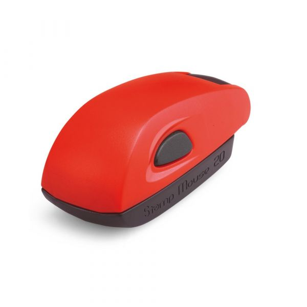 Stamp Mouse 20 rot