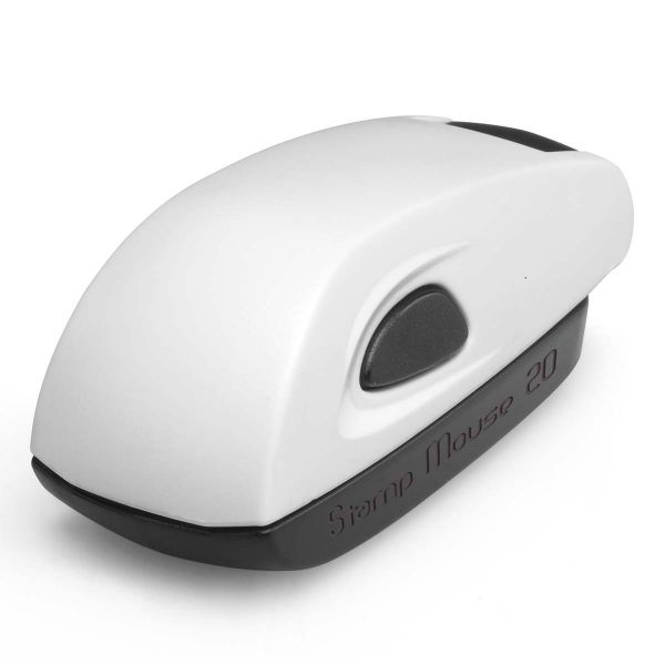 Stamp Mouse 20 weiss
